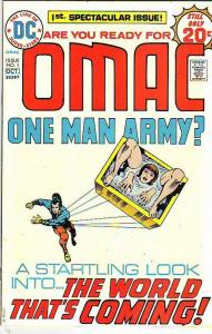 OMAC #1 (Sep-74) NM- High-Grade OMAC