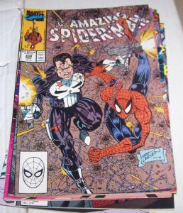 Amazing Spider-Man # 330 punisher erik larsen