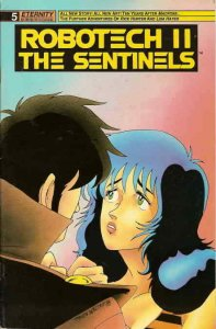 Robotech II: The Sentinels #5 VF/NM; Eternity | save on shipping - details insid