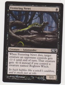 Magic the Gathering: Magic 2014 - Festering Newt