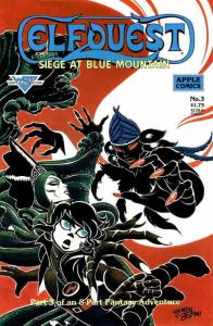 Elfquest: Siege at Blue Mountain #3 VF; Apple | save on shipping - details insid