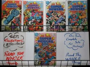 SUPER POWERS (1984) 1-5  JLA, DARKSEID, JOKER