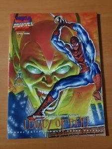 Mega Marvel Magazine APRIL 1996 ~ NEAR MINT NM ~ Marvel Spider-Man Legacy