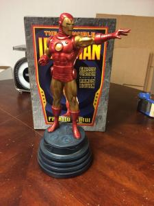 Iron Man Classic Bowen Full Size Statue Mint 1318/ 3000 W/ Perfect Box