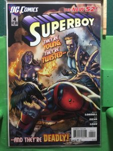 Superboy #4 The New 52