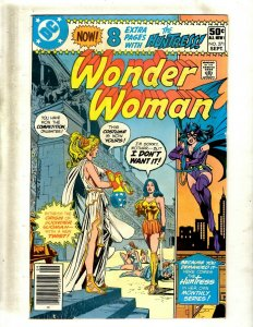 Lot Of 6 Wonder Woman DC Comic Books # 271 272 273 274 276 277 Batman Flash GK34