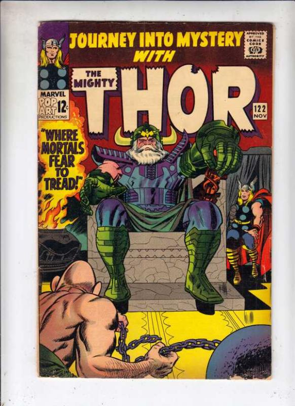 Journey into Mystery #122 (Nov-65) VG/FN Mid-Grade Thor