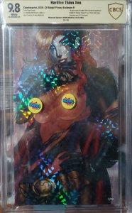 Hardlee Thinn #nn crystal fleck 1/10 CBCS 9.8 SIGNED By Ryan Kincaid 1st App