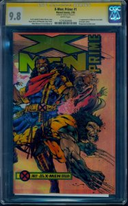 X-Men Prime #1 1995 CGC 9.8 SS White Pgs Signed by Stan Lee! Highest Graded SS!