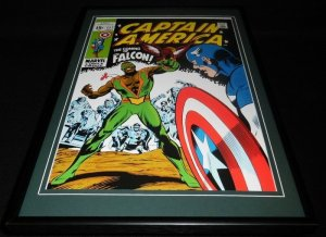 Captain America #117 Framed 12x18 Cover Poster Display Official RP Falcon