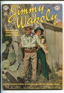 JIMMY WAKELY #4-1950-DC-MOVIE PHOTO COVER-FRANK FRAZETTA-ALEX TOTH-good