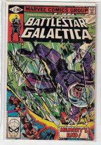BATTLESTAR GALACTICA (1979 MARVEL) #12 VF- A00680