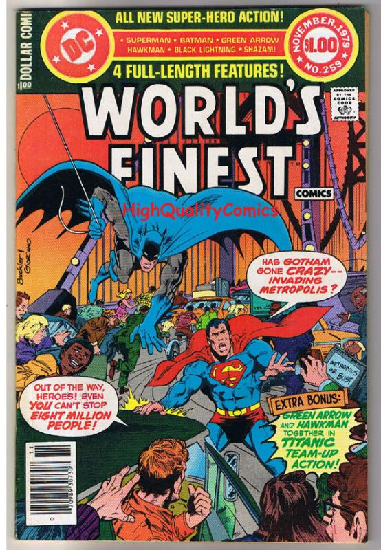 WORLD'S FINEST #259, VF, Superman, Batman, Green Arrow, 1941