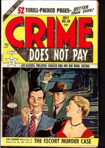 CRIME DOES NOT PAY #89-VIOLENT PISTOL WHIPPING CVR VG-