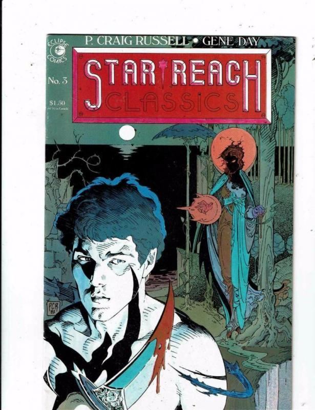 STAR REACH CLASSICS #3, NM-, P. Craig Russell, Gene Day, Eclipse 1984