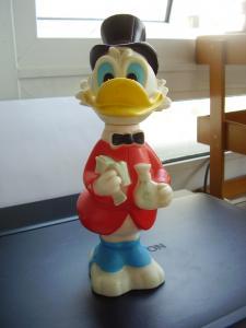 Rico McPato Tio Disneyana Vintage Coleccionable Figura Gilito Uncle Scrooge