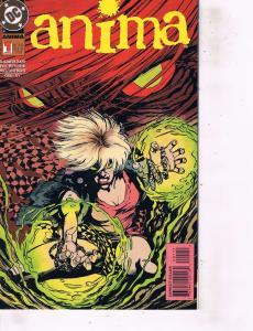 Lot Of 2 Comic Books DC Anima #1 and Zero Hour Anima #7 Batman MS12
