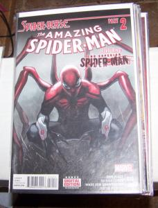 Amazing Spider-Man #  10 ( 2015, Marvel)  spider-verse pt 2+ superior spiderman