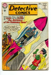 Detective #321 2nd appearance of Terrible Trio 1963 DC