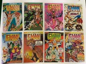 E-Man First Comics Run #1-9 8.0 VF (1983)