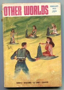 Other Worlds Digest Pulp February 1953- Field of Battle
