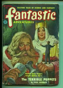 Fantastic Adventures-Pulp-9/1951-Paul W. Fairman-John McGreevey