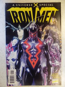 UNIVERSE X SPECIAL IRON MEN # 1 ONE INCH SPLIT TOP OF SPINE