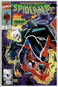 SPIDER-MAN #7, NM+, Todd McFarlane,1990, Ghost Rider, more Marvel in store
