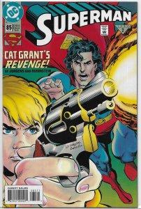 Superman   vol. 2   # 85 VF Toyman