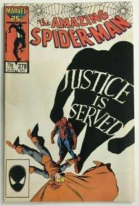 AMAZING SPIDER-MAN#278 VF 1986 MARVEL COMICS