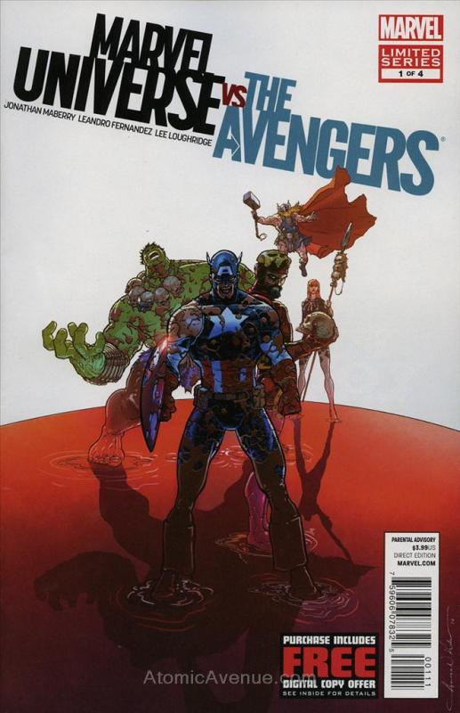 Marvel Universe Vs. The Avengers #1 FN; Marvel | save on shipping - details insi