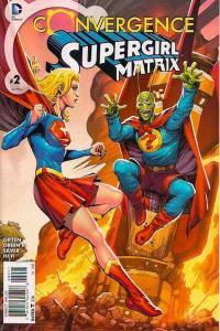 Convergence Supergirl/Matrix #2, NM + (Stock photo)
