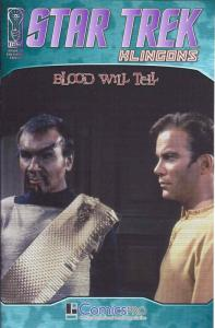 Star Trek: Klingons: Blood Will Tell #1E FN; IDW | save on shipping - details in