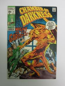 CHAMBER OF DARKNESS 7 WRIGHTSON 1ST MARVEL  1970  F+