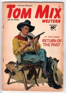 Tom Mix Western #23 (Nov-49) VG Affordable-Grade Tom Mix