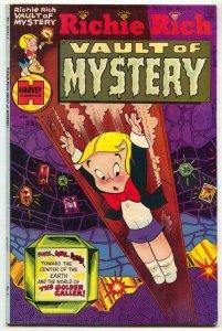 Richie Rich Vault of Mystery #3 1975- Harvey comics VG+