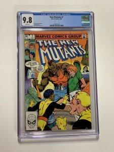 New Mutants 7 Cgc 9.8 White Pages Marvel X-men Copper Age