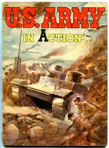 US Army in Action 1942- Whitman #797 VG