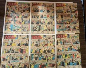 Dick Tracy Newspaper Comics 1938 Set Of 12 Great Shape Sundays
