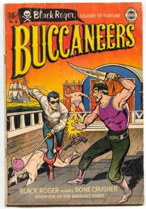 Buccaneers #12 1964- Golden Age Reprint - Reed Crandall G