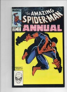 Amazing SPIDER-MAN #17 Annual, FN, Heroes and Villains, 1963 1983 more in store