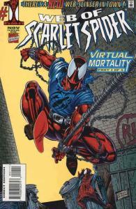 Web of Scarlet Spider #1 VF; Marvel | save on shipping - details inside