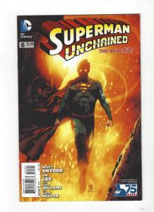 Superman Unchained #6  DC Comics New 52 Andrea Sorrentino Variant NM