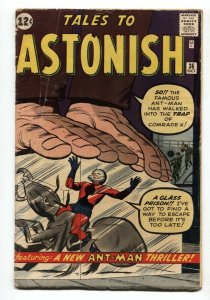 Tales To Astonish #36 1962-marvel comic book-antman In costume-vg