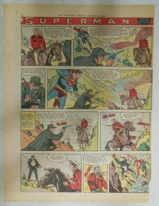Superman Sunday Page #948 by Wayne Boring from 12/29/1957 Size ~11 x 15 inches