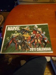Marvel calendar 2011