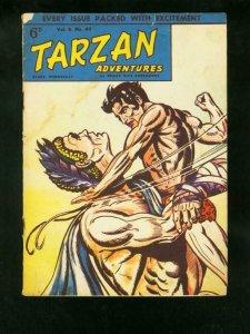TARZAN ADVENTURES v.8 #40 1959-BRITISH COMIC-HOGARTH ART-good/very good G/VG