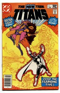 NEW TEEN TITANS #3- comic book 1st SHIMMER DC