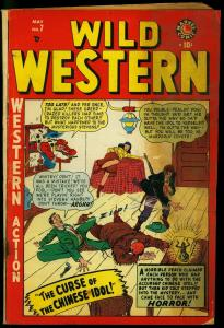 Wild Western #7 1949- Kid Colt- Two-Gun Kid- Blaze Carson Marvel Comics G