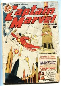 Captain Marvel Adventures #96- Mr Tawny- Golden Age 1949